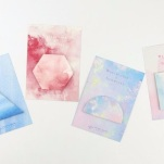 Watercolour Sticky Notes from Aliexpress